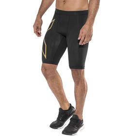 2XU MCS Run Compression Shorts Men Black/Gold